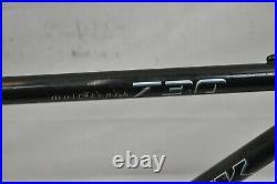 1997 Trek 730 Multitrack City Hybrid Bike Frame 19 Large Chromoly Steel Charity