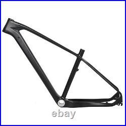 19 Carbon MTB Frame BB30 UD Matt Mountain Bicycle Clamp 135mm QR 27.5er