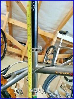 19 Kona Hei Hei TITANIUM King Kahuna XTR Mountain Bike Chris King Manitou retro