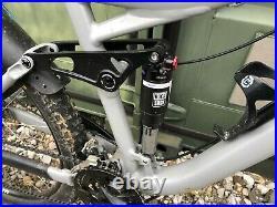 2013 Kona Process DH Mountain Bike Full Suspension Grey Medium