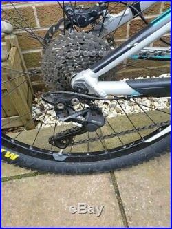 2014 Giant Trance 1 27.5 Mountain Bike Size Medium Full Suspension