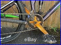 2014 Kona Cadabra Mountain Bike Full Suspension Medium