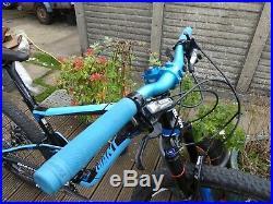 2015 Giant Anthem 2 Full Suspension Mountain Bike 27.5 wheel 17.5 Medium Frame