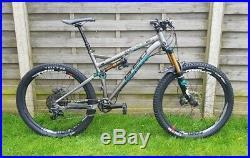 2015 Whyte G-160 Works Enduro Trail Mountain Bike Large