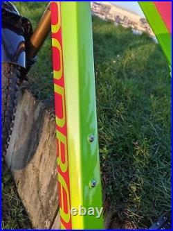 2016 MONDRAKER DUNE RR full suspension Enduro mountain bike medium Red and Lime