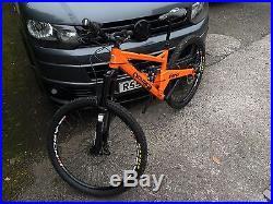 2016 Orange Five RS Small Frame Mountain Bike 27.5 650b
