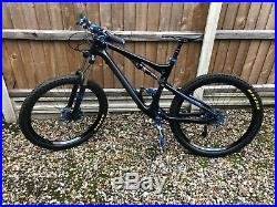 2016 Scott genius carbon large mountain bike custom build