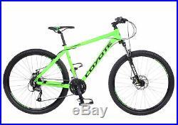 2017 Coyote Wyandot Hardtail Gents 650B 27.5 Wheel Mountain Bike RRP £449.99