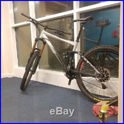2017 Cube Fritzz All Mountain Enduro Large Full Suspension Bike plus spares