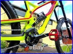 2017 Nukeproof Pulse Comp Downhill Mountain Bike 16 Small Frame 10 Speed 27.5