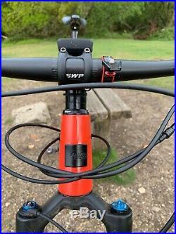 2018 Santa Cruz Blur C Carbon Fibre Mountain Bike Frame XL