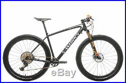 2018 Specialized S-Works Epic Hardtail Mens Mountain Bike Large Carbon XX1 Eagle