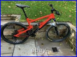 2019 Calibre Bossnut v2 Evo Full Suspension Mountain Bike with Dropper Post