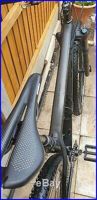 2020 BLK Trek Procaliber 6 29er mountain bike 17.5 Med carbon UPGRADE RRP £3000