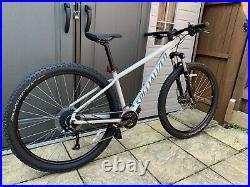 2021 Specialized Rockhopper Sport 29 Mountain Bike in White M Medium