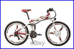 250W36V 21Speed Suspension Electric Bike Mountain Folding ebike bicycle RT-860