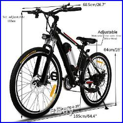 26Electric Bike EBike Mountain Bicycle Cycling 21Speed 36V Lithium-ION