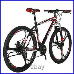 27.5 Mens Mountain Bike Shimano 21 Speed Bicycle Disc Brakes Front Suspension