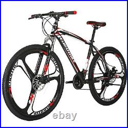27.5 Mountain Bike Shimano 21 Speed Front Suspension Mens Bicycle Disc Brakes L