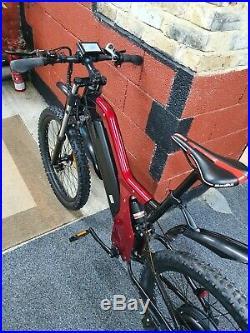 30mph ebike electric bike mountain large 55km/h 48v500w geared motor bicycle men