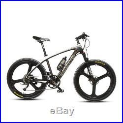 9 Speed Ebike Power Assist Electric Bike 250W 36V Carbon Fibre Mountain Bike