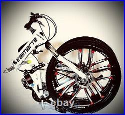 Adult Bike 21 Speed 26 Mtb Aluminium Folding Frame Full Suspension Bicycle