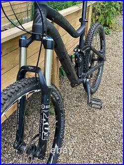 Avanti Torrent Full Suspension Mountain Bike Black/Large