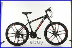 BLACK & RED Mountain Bike/Bicycle Sport Men/Women 21 Speed 26 Wheel MTB