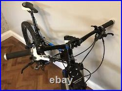 Boardman Team Full Suspension Mountain Bike 27.5 Med with upgrades & spare tyres