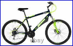 Boss Vortex G18 HT Boys/Mens MTB Mountain Bike Bicycle Green/Blue 12+ Years