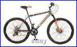 Boss Vortex Gents 26 Wheel 18 Speed Hard Tail MTB Mountain Bike Cycle B2616161