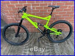 Calibre Beastnut Full Suspension Mountain Bike 21.5inch Aluminium Adults L Frame