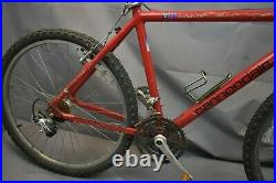 Cannondale 1993 M300 3.8 MTB Bike Large 19.5 Hardtail Deore SIS 7 USA Charity