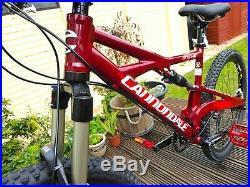 Cannondale Prophet 1 Full Suspension Mountain Bike 17 Medium Frame 140mm Pike