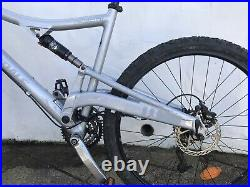Cannondale Rush 6 Full Suspension Mountain Bike Used New Rear Suspension Large