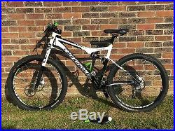 Cannondale Scalpel mountain bike M full carbon with Lefty fork, fully serviced