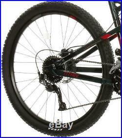 Carrera Titan Mens Full Suspension Mountain Bike 18 Gear MTB Bicycle 27.5 Wheel