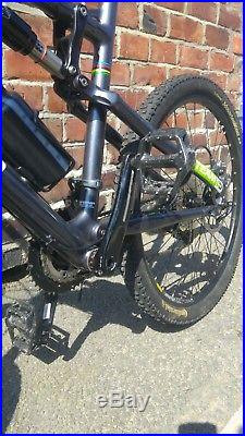 Chris Boardman team full suspension mountain bike