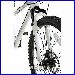 Cross FXT30 26 Inch Front Suspension Men's Mountain Bike White