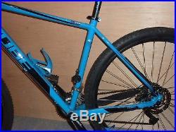Cube Analog 29 Mens Mountain Bike 2015 Hardtail MTB Blue n' Black