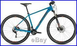 Cube Attention SL 29er Hardtail Mountain Bike 2019 Blue Orange 17 inch Mens MTB