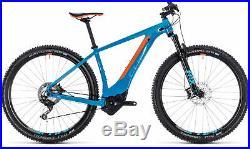 Cube Reaction Hybrid SLT 500 Mens Electric Mountain Bike 2018 Blue