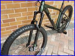 Cube Reaction TM 2019 18 frame Mountain Bike. 27.5 wheel. £999. As new. 650b