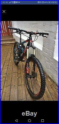Cube Stereo 160 HPA Race 27.5 2016 Full Suspension Mountain Bike Size 20 Large