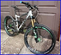 Cube Stereo 160 HPA TM 18 Frame Full Suspension 27.5 Mountain Enduro Bike