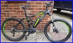Cube Stereo Hybrid 140 Pro 27.5 electric mountain bike with Garmin Edge 1000