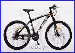 EASY-TRY Unisex Mens Womens Kids Mountain Bike Hybrid Bike 26 27.5 29