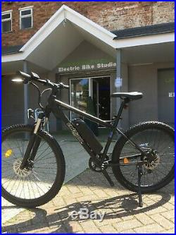 ECOSMO Electric Mountain Bike + Up to 40 miles + 1 Year Warranty + Free Delivery