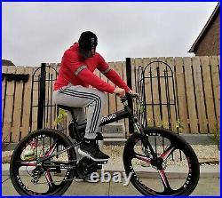 Electric Folding Bike mountain e-Bike Bicycle Men's Adults 36V 350W 10AH 26 Inch