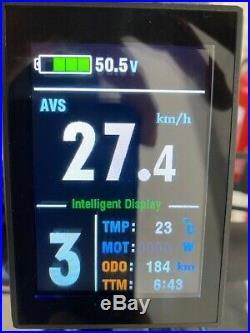 Electric mountain bike. Very fast. Trek Marlin 5 conversion. 2000w 58V. 50kph